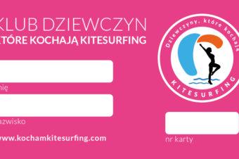 """Klub """"Dziewczyn, które kochają kitesurfing"""""""